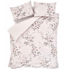 Catherine Lansfield Canterbury Duvet Set - Blush