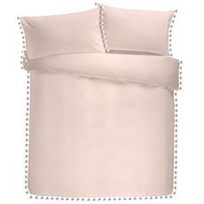 Signature Pearl Duvet Set - Blush