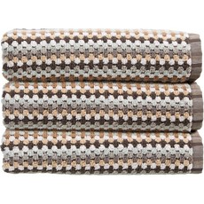 Carnaby Stripe Towel Neutral