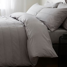 Bianca Langdon Duvet Set - Grey