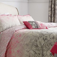 Clarissa Hulse Espinillo Duvet Cover - Hot Pink
