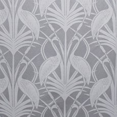 Chateau Deco Heron Curtains - Grey