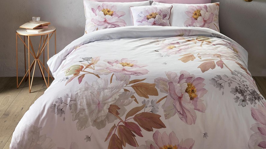 Ted Baker Butterscotch Duvet Cover - Grey