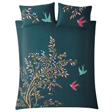Sara Miller Dancing Swallow Sara Miller Dancing Swallow Duvet Set