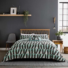 Pedro Duvet Cover Set - Aqua