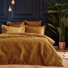 Palmeria Quilted Duvet Set - Gold