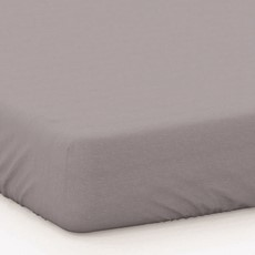 Percale Extra Deep Fitted Sheet - Grey