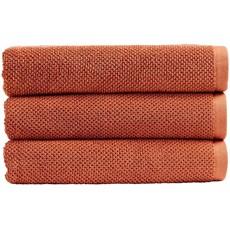 Christy Brixton Towel - Terracotta