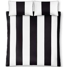 Monochrome Stripe Duvet Set