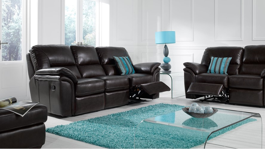 Baldini 2 Seater Recliner Sofa