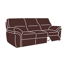 Baldini 3 Seater Sofa