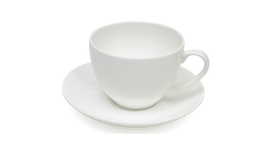 Maxwell & Williams Cashmere Basic Coupe Cup & Saucer