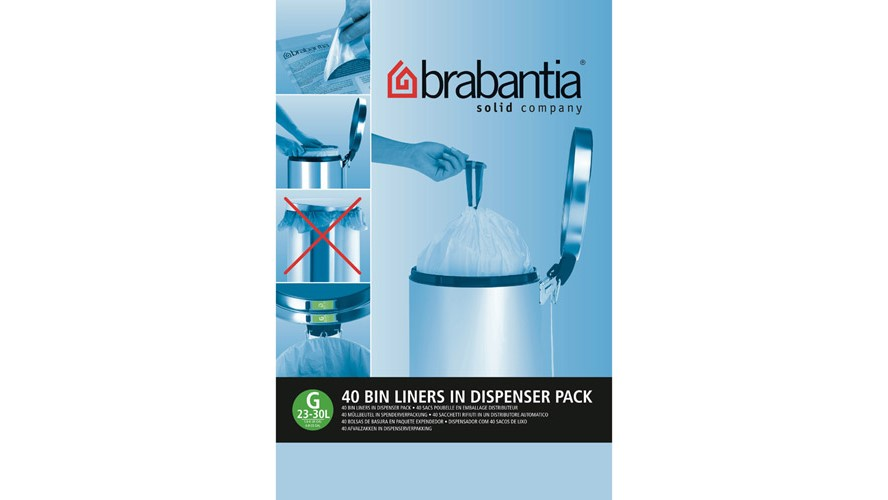 Brabantia Smartfix 30L Bin Dispenser - 40 Pack