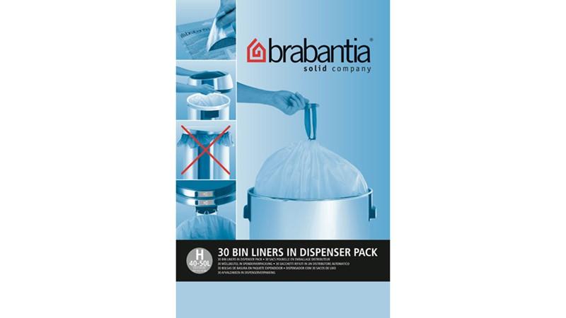 Brabantia Smartfix 50L Bin Dispenser - 30 Pack
