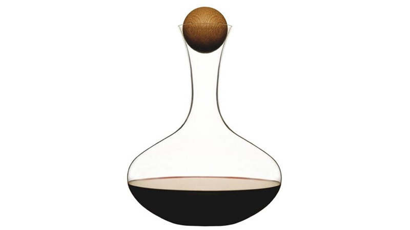 Decanter With Oak Stopper