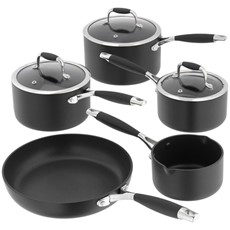 Stellar 2000 5 Piece Pot Set - Black