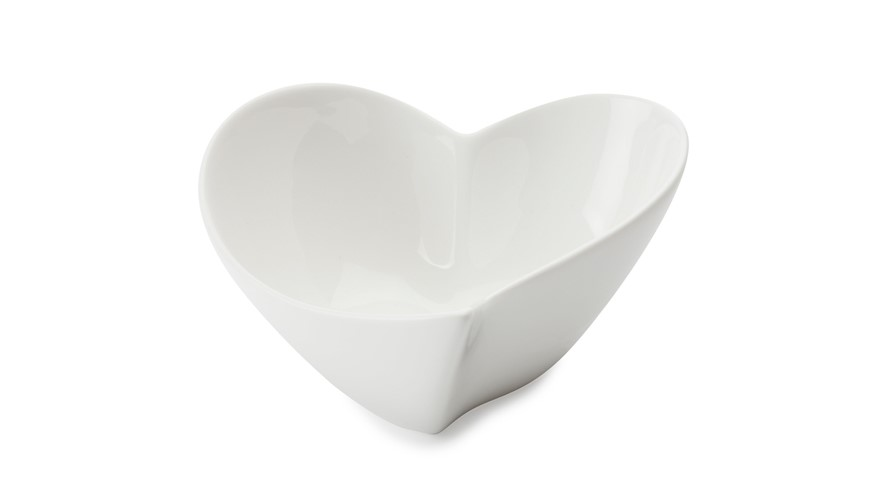 Maxwell & Williams White Basics Heart Bowl - 11cm