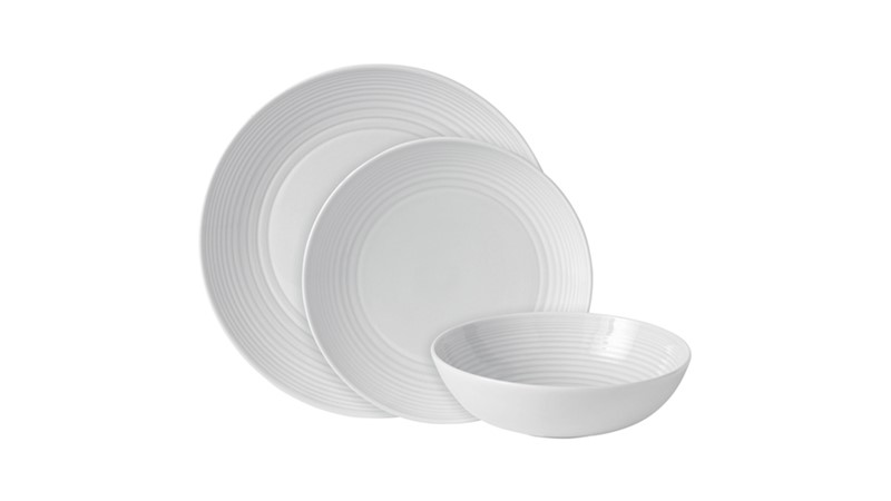 Gordon Ramsay Maze 12 Piece Dinner Set - White