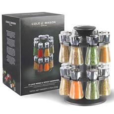 Cole & Mason 16 Jar Spice Rack