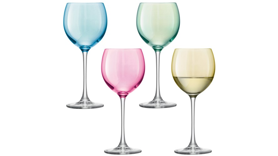 LSA Polka Wine Glasses (Set of 4)