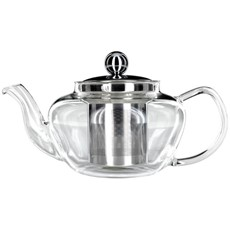 Judge Glass Teapot