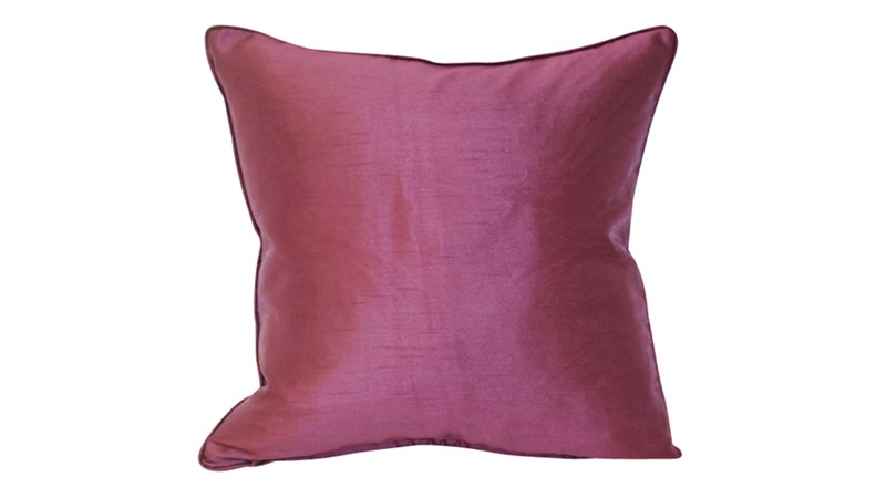 Fiji Cushion - Aubergine