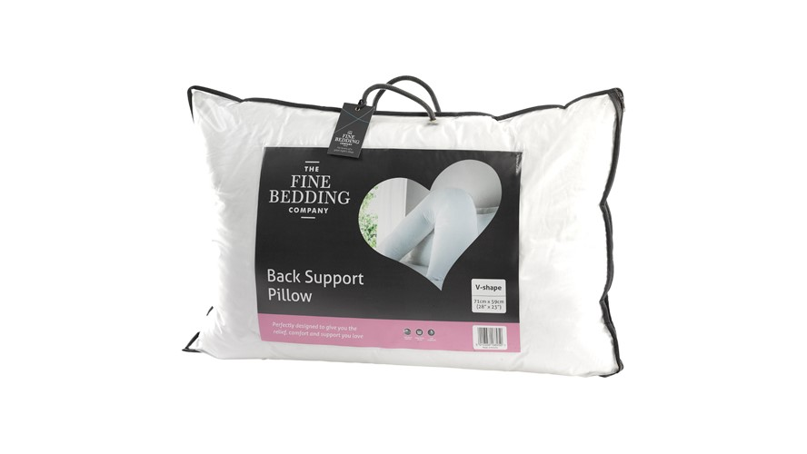 V-Shaped Back Support Pillow