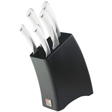Amefa Kyu Ice 5 Piece Knife Block Set