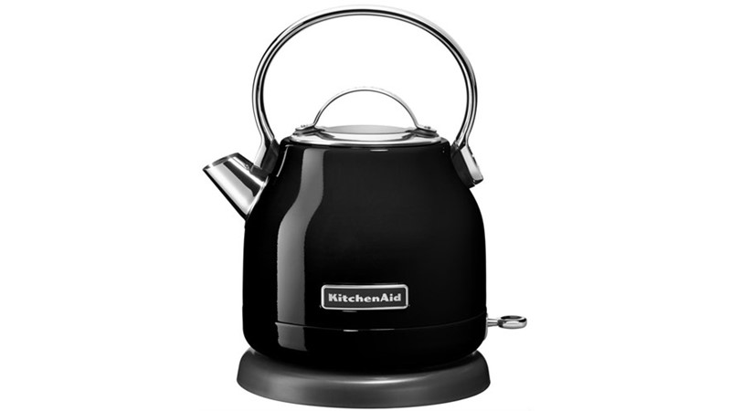 KitchenAid 1.25L Dome Kettle - Black