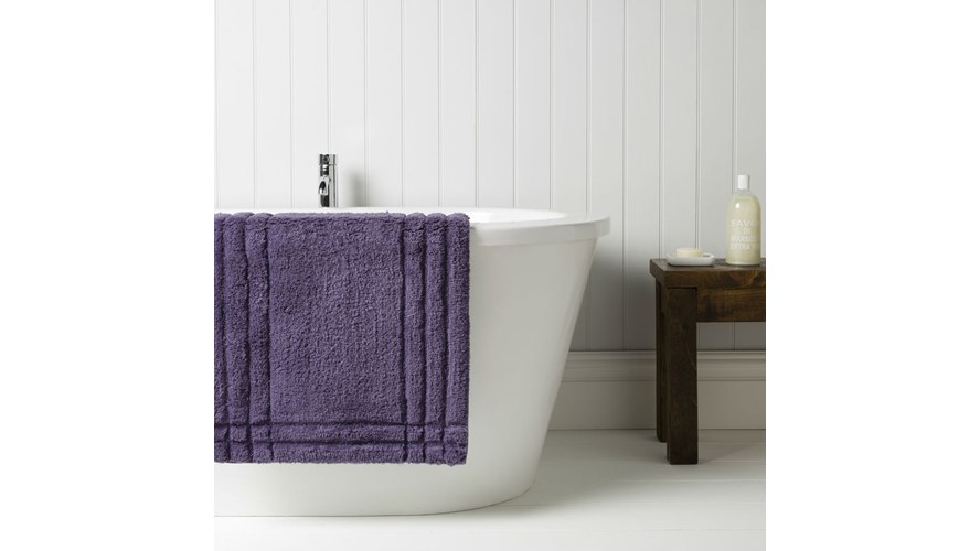 Christy Supreme Bath Rug - Thistle