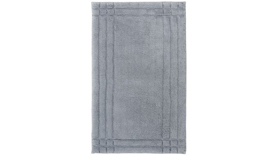 Christy Supreme Bath Rug - Silver