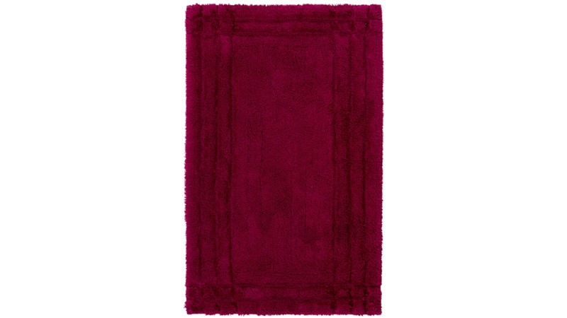 Christy Supreme Bath Rug - Raspberry