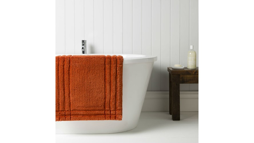 Christy Supreme Bath Rug - Paprika