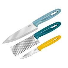 Jamie Oliver Crinkle Knife Set