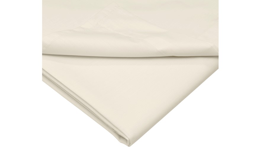 Peacock Blue Ivory 300 Oxford Pillowcase