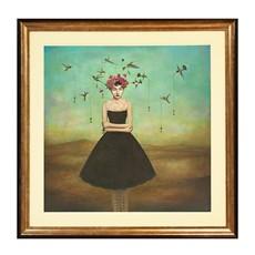Frame Of Mind Framed Print