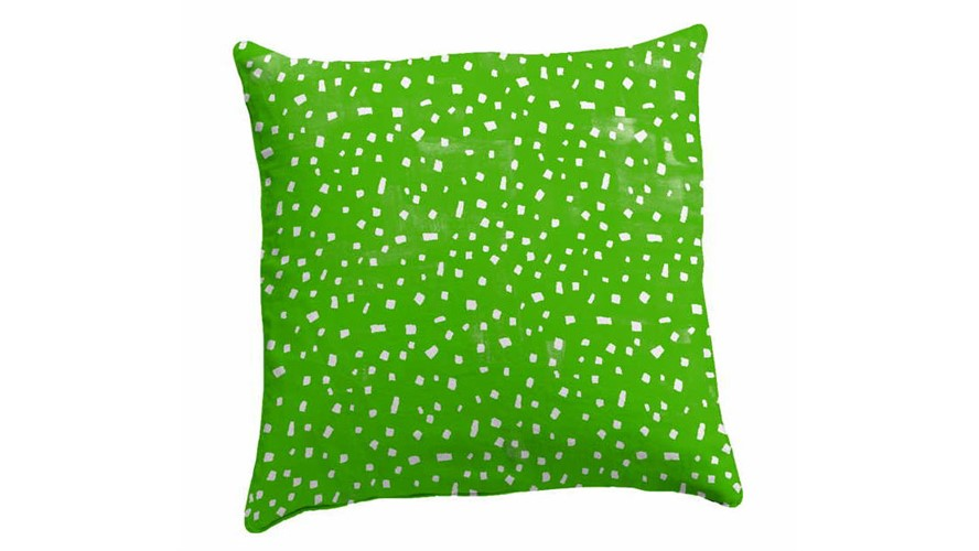 Natasha Marshall Prickle Cushion & Feather Pad - Green