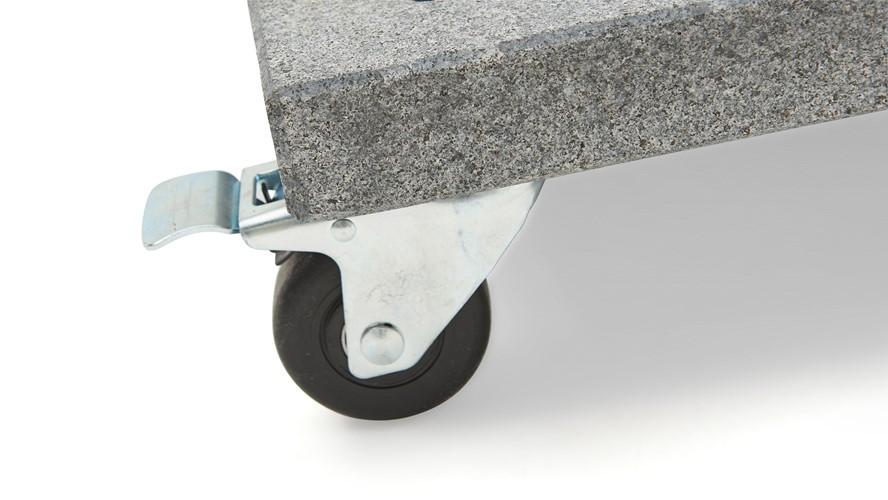 Palermo Granite Wheeled Base