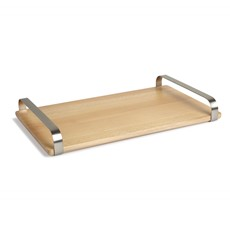 Umbra Savore Serving Tray - White-Natural