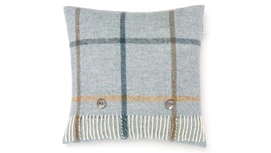 Bronte Windowpane Shetland Cushion