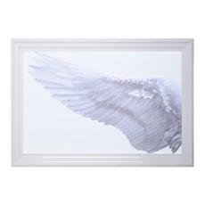 White Wings Left Wall Art