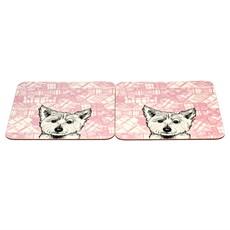Westie Tablemats - Set of 2