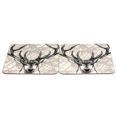 Stag Tablemats - Set of 2