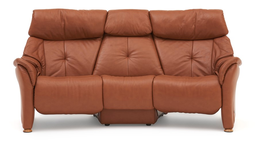 Himolla Chester Curved Recliner Sofa