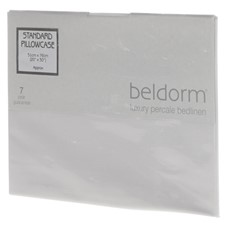 Percale Pillowcase - White