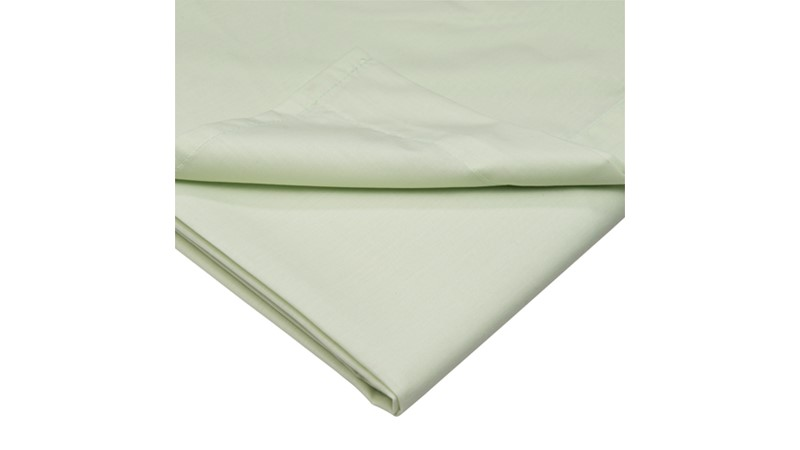 Percale 200 Fitted Sheet - Apple
