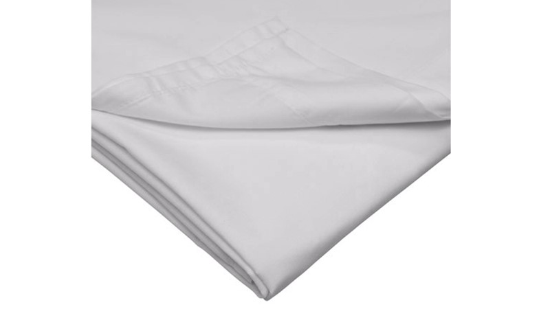 Percale 200 Fitted Sheet - Cloud