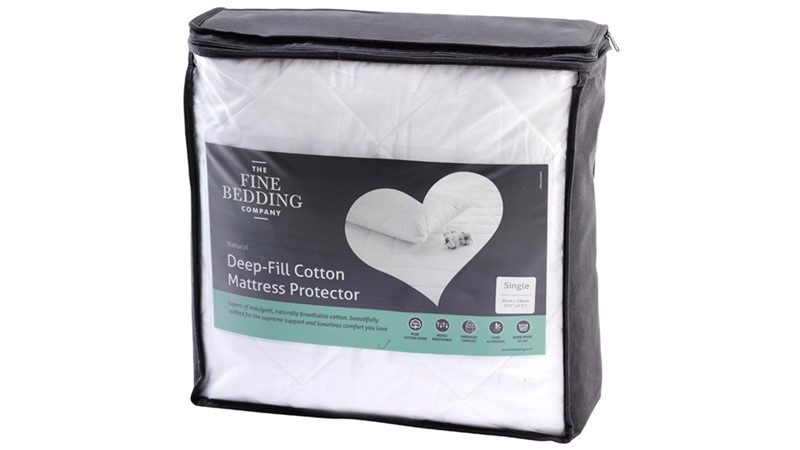 Deep Filled Cotton Mattress Protector