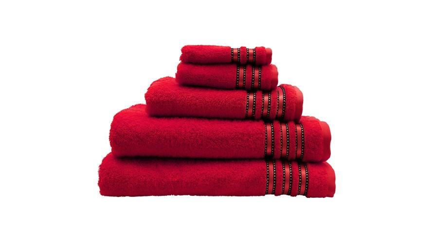 Vossen Cult De Luxe Towel - Red