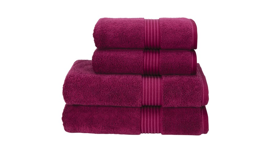Christy Supreme Hygro Towel - Raspberry